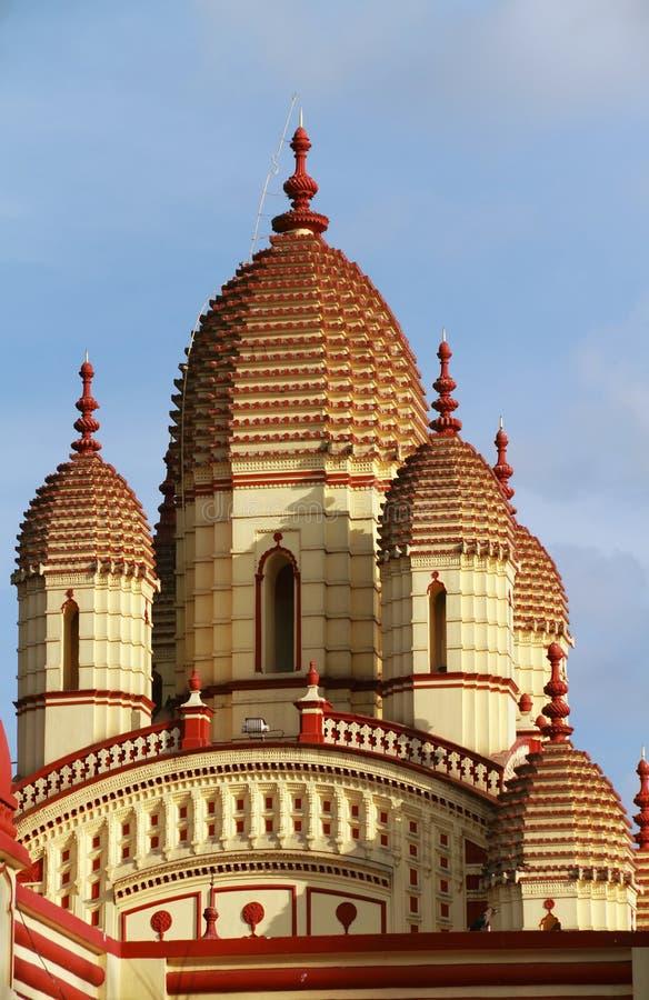 Ναός της Kali Dakshineswar στοκ φωτογραφία με δικαίωμα ελεύθερης χρήσης