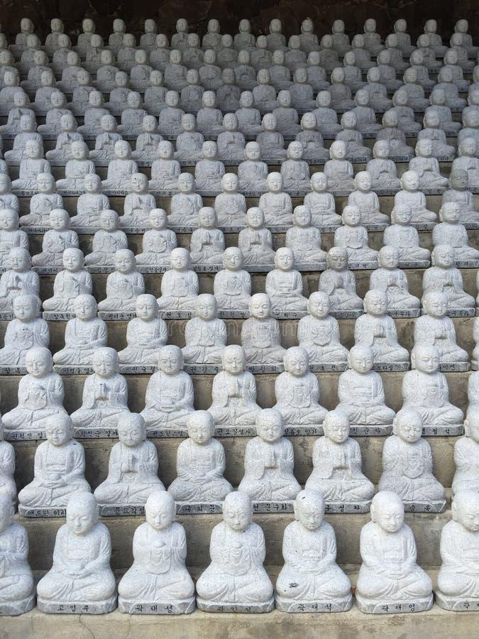 Ναός της MU -MU-ryang Sa κήπων Jang Bosal Ji στοκ εικόνα με δικαίωμα ελεύθερης χρήσης