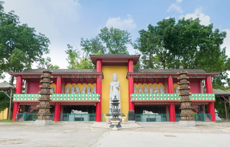 Ναός της Shan Cham (δέκα χιλιάδες Buddas) στοκ εικόνες με δικαίωμα ελεύθερης χρήσης