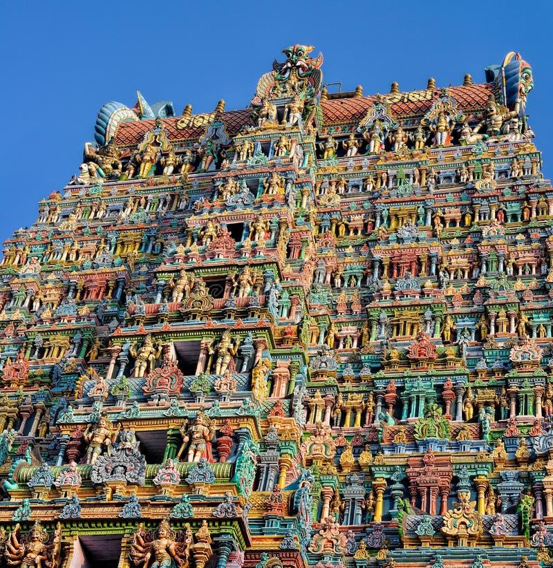 Ναός του Αμμάν Meenakshi στοκ εικόνες