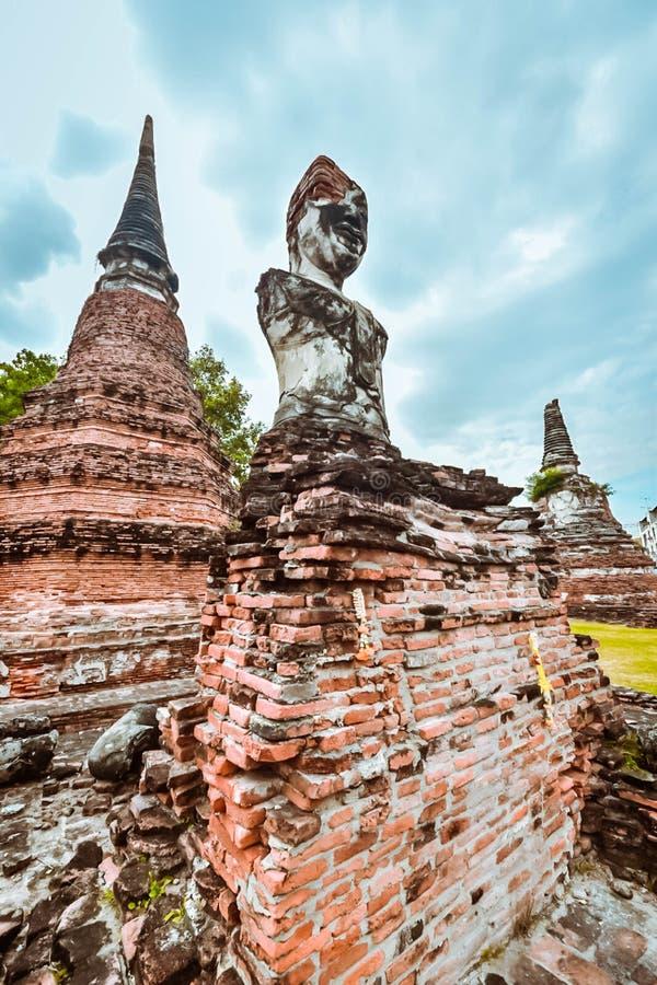 Ναός του Βούδα Mahathat στην Ταϊλάνδη στοκ φωτογραφία