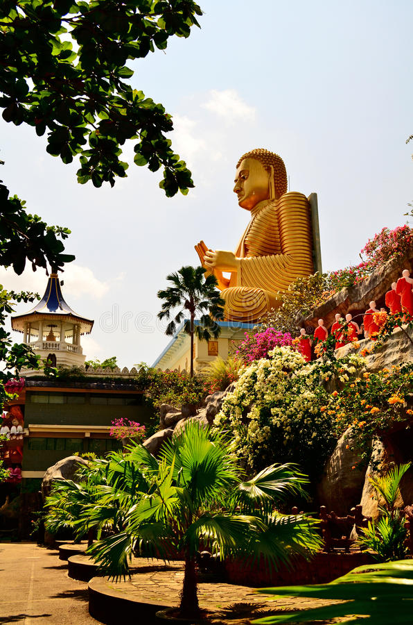 Ναός του Βούδα στη Σρι Λάνκα (Κεϋλάνη) στοκ φωτογραφία με δικαίωμα ελεύθερης χρήσης