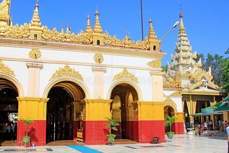 Ναός του Βούδα Mahamuni, Mandalay, το Μιανμάρ στοκ εικόνες