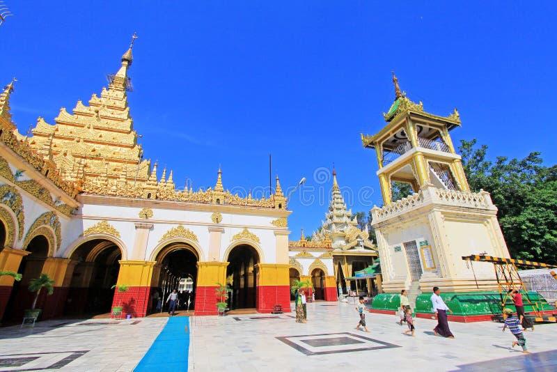 Ναός του Βούδα Mahamuni, Mandalay, το Μιανμάρ στοκ εικόνα με δικαίωμα ελεύθερης χρήσης