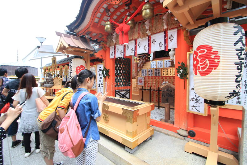 ναός του Κιότο kiyomizudera στοκ φωτογραφία