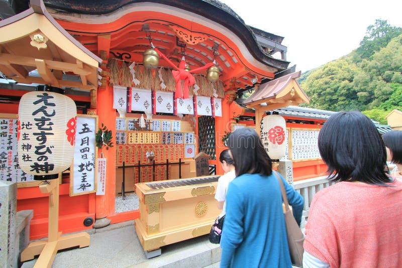 ναός του Κιότο kiyomizudera στοκ εικόνες