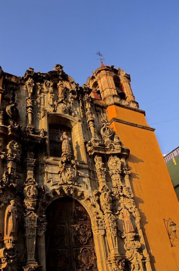ναός του Μεξικού SAN guanajuato de Diego στοκ εικόνα με δικαίωμα ελεύθερης χρήσης