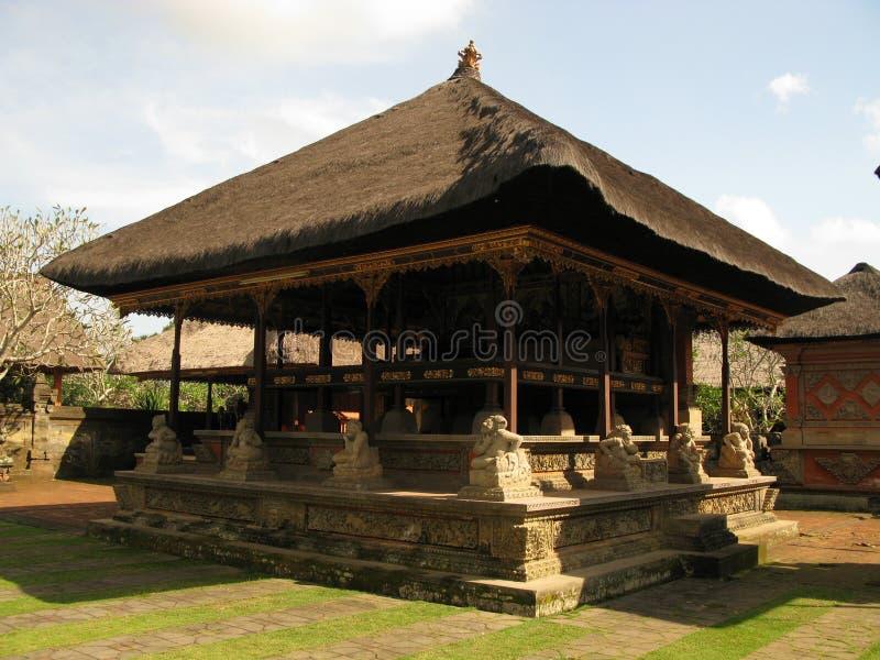 ναός του Μπαλί Ινδονησία στοκ εικόνα