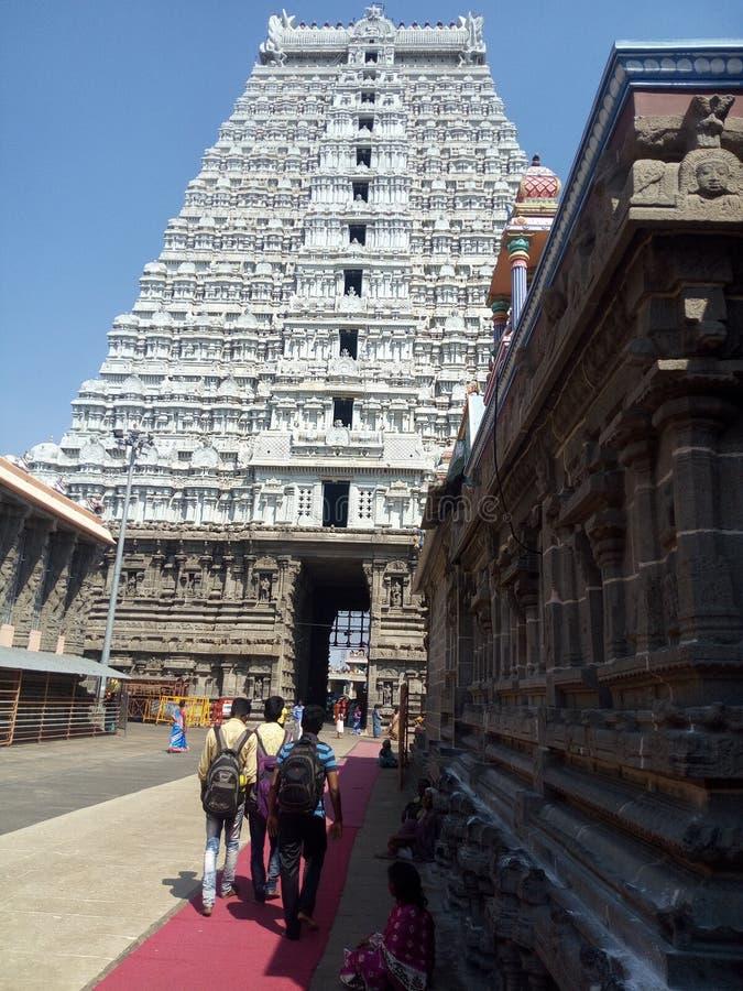 Ναός του νότιου ινδικού παλαιού αρχαίου artiture στοκ εικόνες