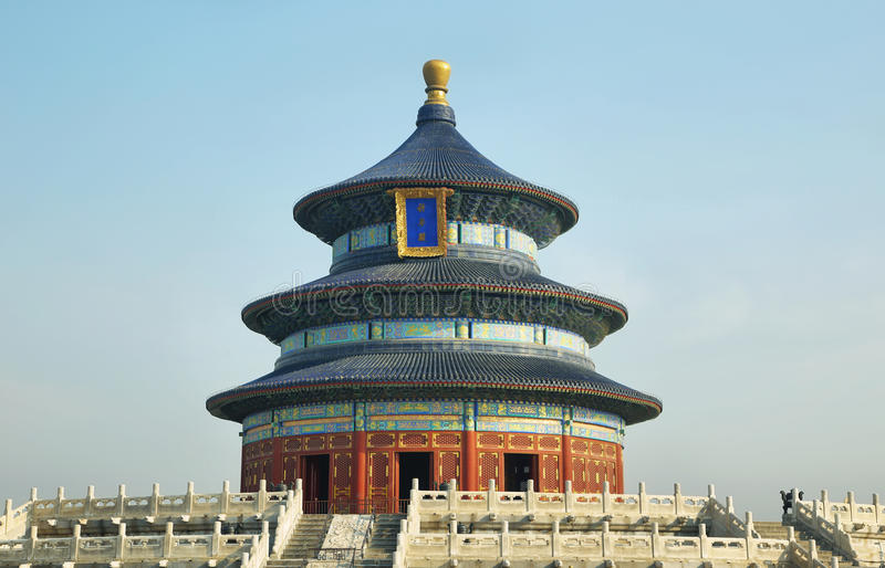 Ναός του ουρανού, Beinig, Κίνα στοκ φωτογραφία