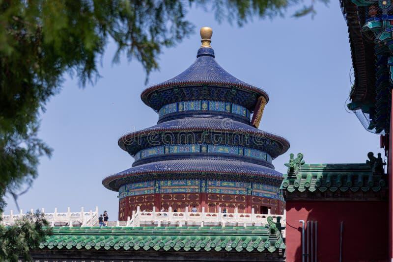 Ναός του Πεκίνου του ουρανού, Κίνα στοκ φωτογραφίες