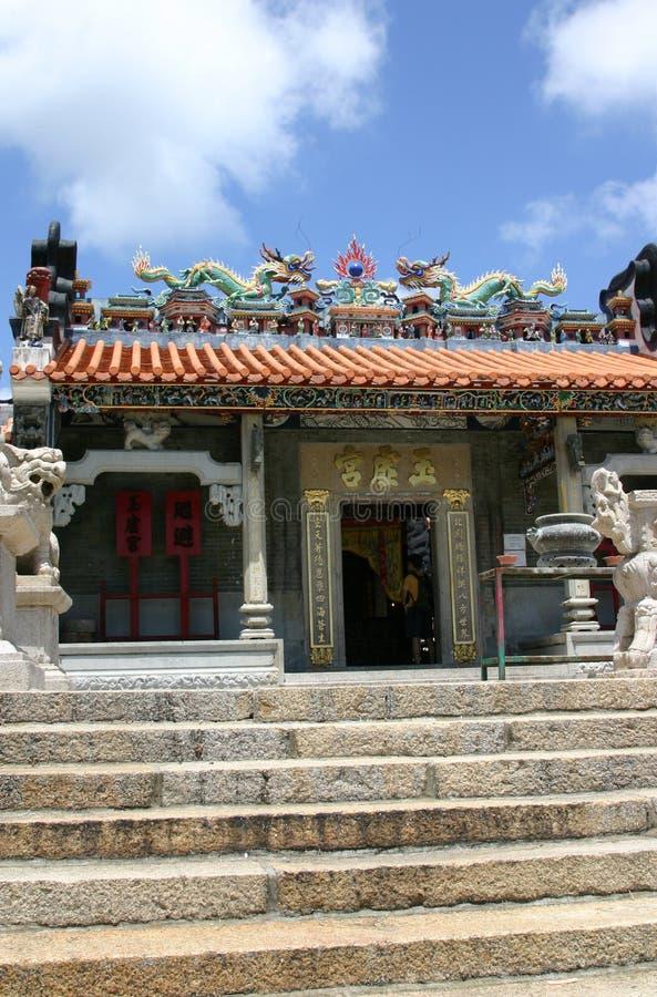 ναός του Χογκ Κογκ pak tai chau cheung στοκ φωτογραφία με δικαίωμα ελεύθερης χρήσης