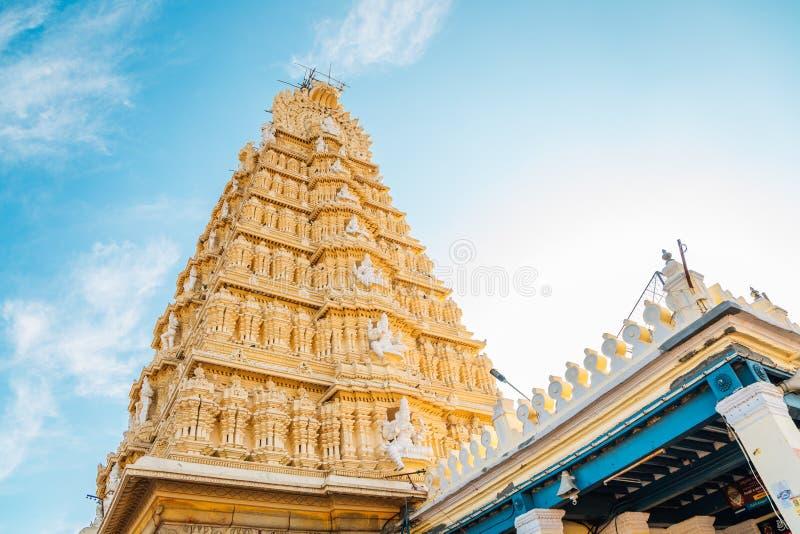 Ναός του Mysore Sri Chamundeshwari στην Ινδία στοκ φωτογραφίες
