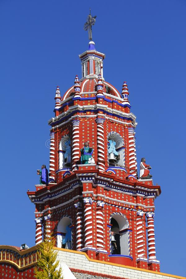 Ναός του tonantzintla Β Παναγίας στοκ εικόνες με δικαίωμα ελεύθερης χρήσης