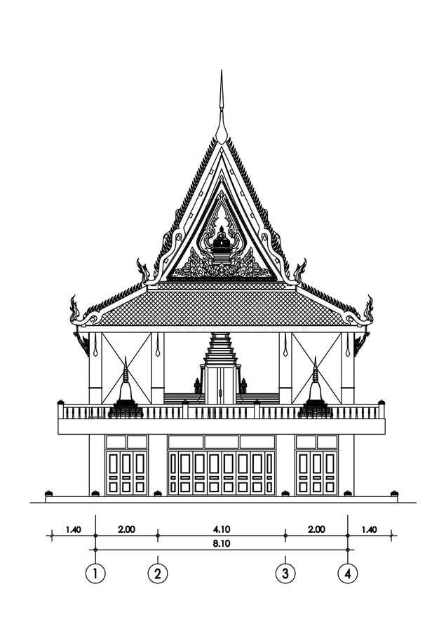 ναός στοκ εικόνα
