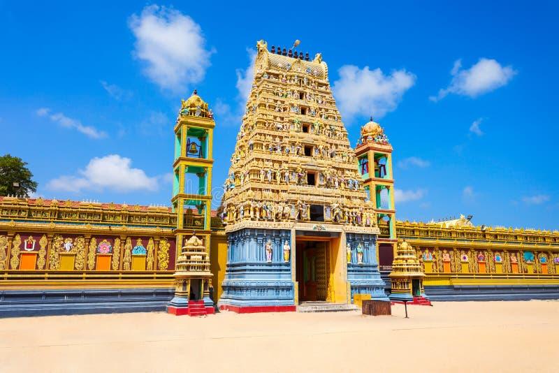 Ναός Alvar Vishnu Vallipuram στοκ εικόνα με δικαίωμα ελεύθερης χρήσης