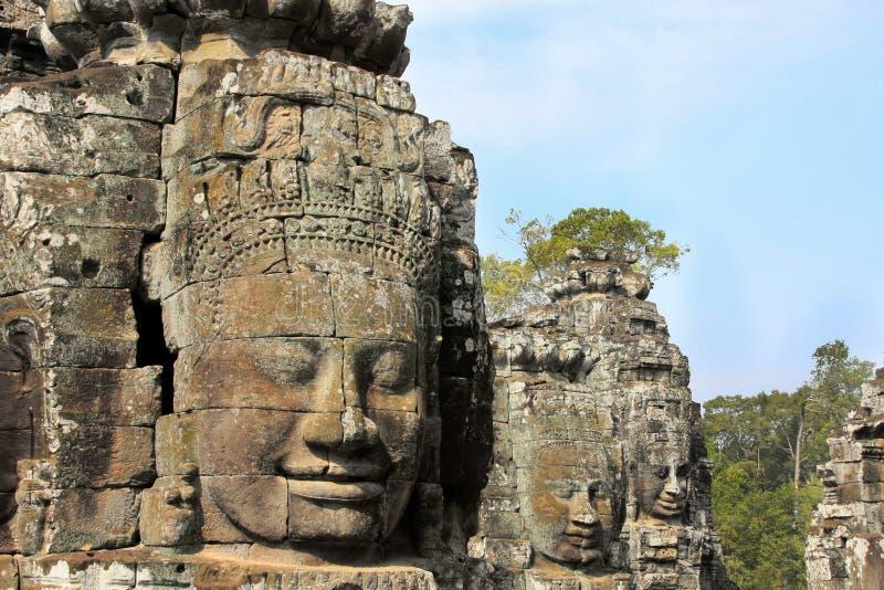 ναός angkor thom στοκ εικόνα με δικαίωμα ελεύθερης χρήσης