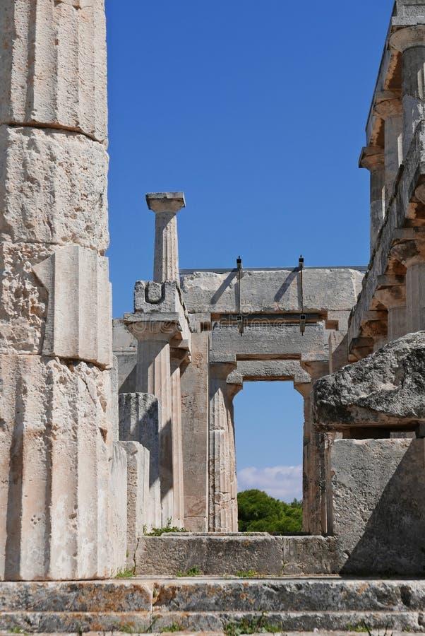 Ναός Aphaea στοκ φωτογραφίες με δικαίωμα ελεύθερης χρήσης