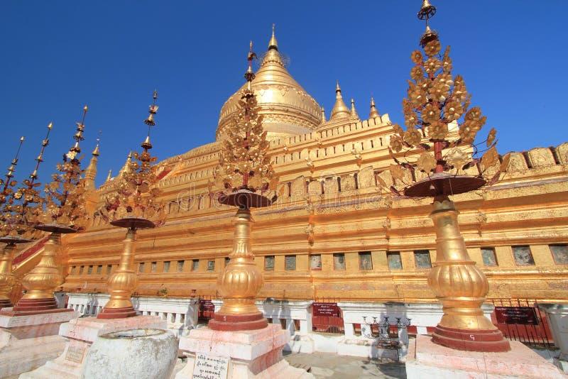 Ναός Bagan στο Μιανμάρ στοκ εικόνες