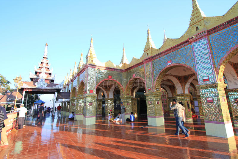 Ναός Bagan στο Μιανμάρ στοκ εικόνα με δικαίωμα ελεύθερης χρήσης