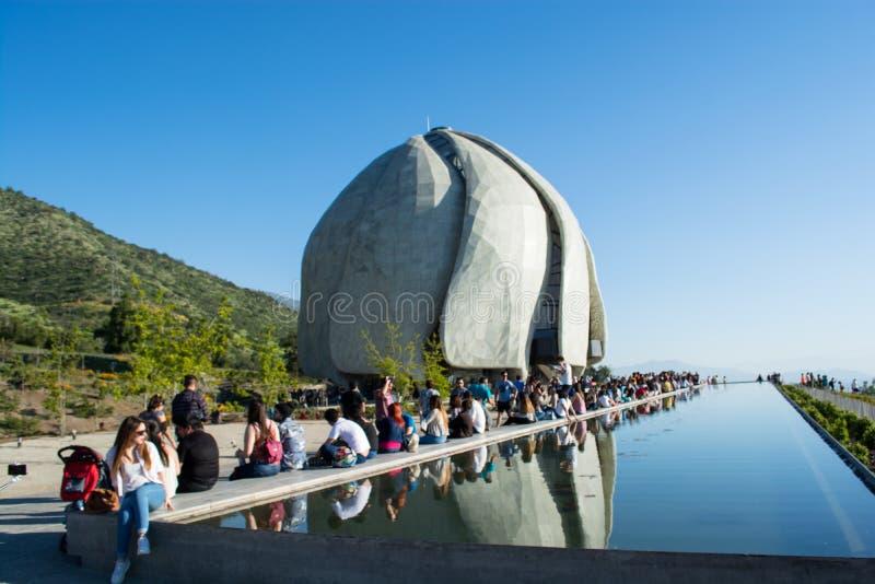 Ναός Bahai στη Χιλή στοκ φωτογραφία με δικαίωμα ελεύθερης χρήσης