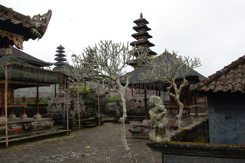 Ναός Besakih Pura, Μπαλί, Ινδονησία στοκ φωτογραφίες