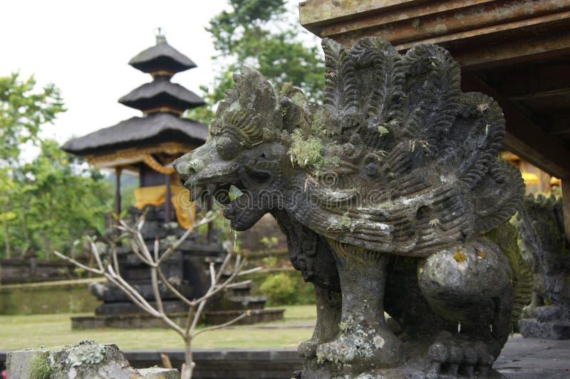 Ναός Besakih Pura, Μπαλί στοκ εικόνα