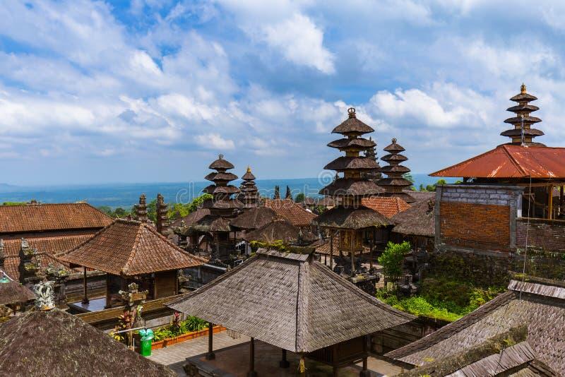 Ναός Besakih Pura - νησί Ινδονησία του Μπαλί στοκ φωτογραφίες με δικαίωμα ελεύθερης χρήσης