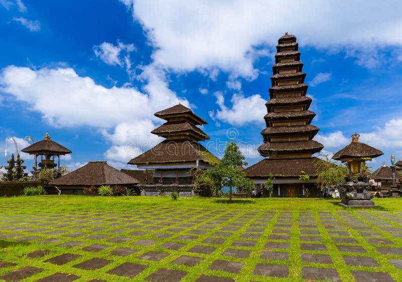 Ναός Besakih Pura - νησί Ινδονησία του Μπαλί στοκ εικόνες