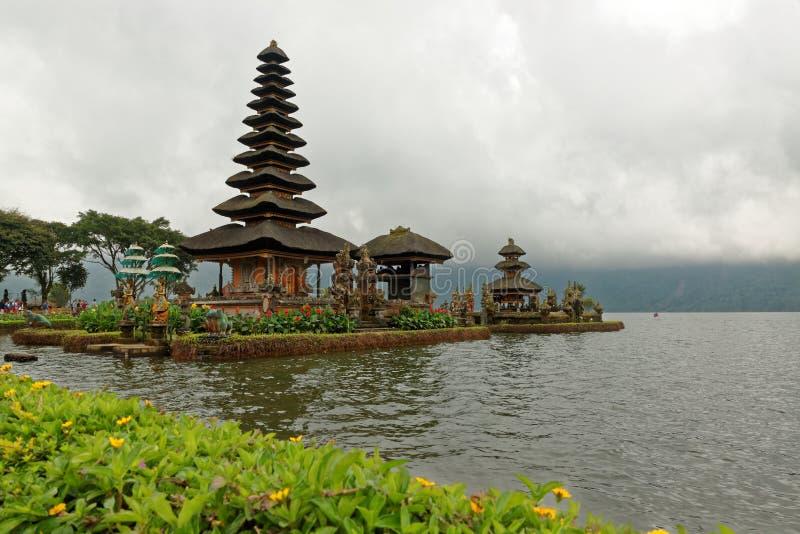 Ναός Bratan στο Μπαλί στοκ φωτογραφία με δικαίωμα ελεύθερης χρήσης