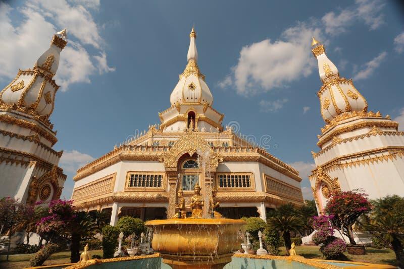 Ναός Buddism στα βορειοανατολικά της Ταϊλάνδης στοκ εικόνες