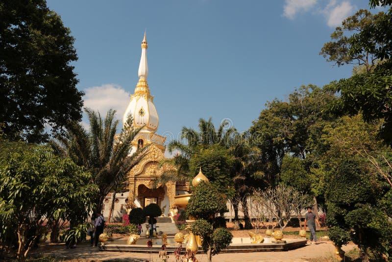 Ναός Buddism στα βορειοανατολικά της Ταϊλάνδης στοκ φωτογραφίες