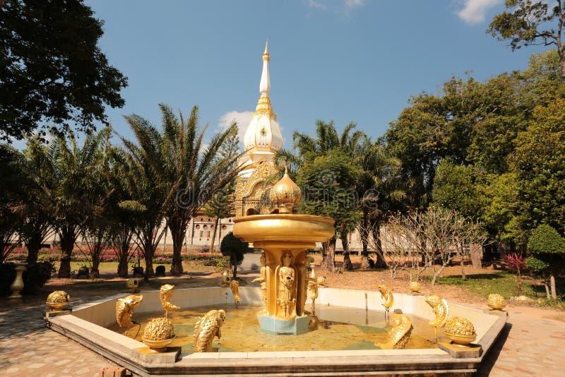 Ναός Buddism στα βορειοανατολικά της Ταϊλάνδης στοκ εικόνα με δικαίωμα ελεύθερης χρήσης