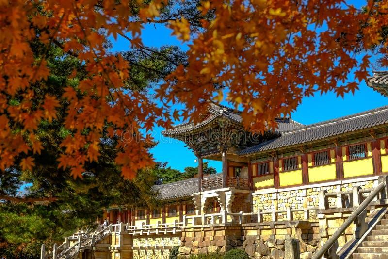 Ναός Bulguksa στοκ φωτογραφία με δικαίωμα ελεύθερης χρήσης