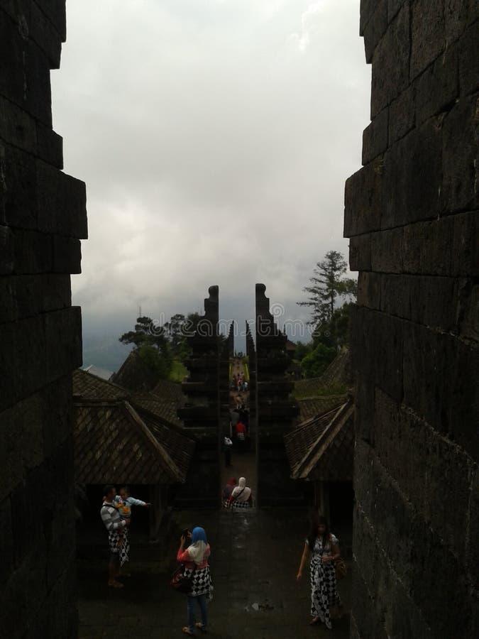 Ναός Cetho στοκ εικόνες