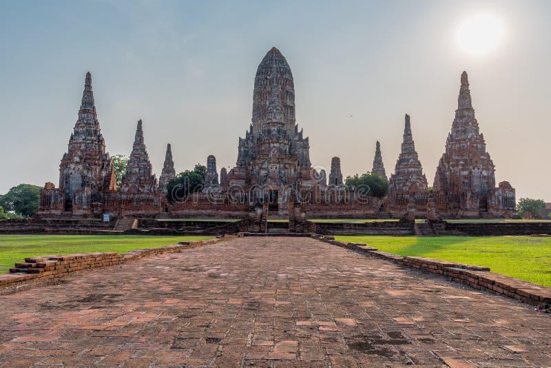 Ναός Chaiwatthanaram Wat της επαρχίας Ayutthaya Ayutthaya στοκ εικόνες