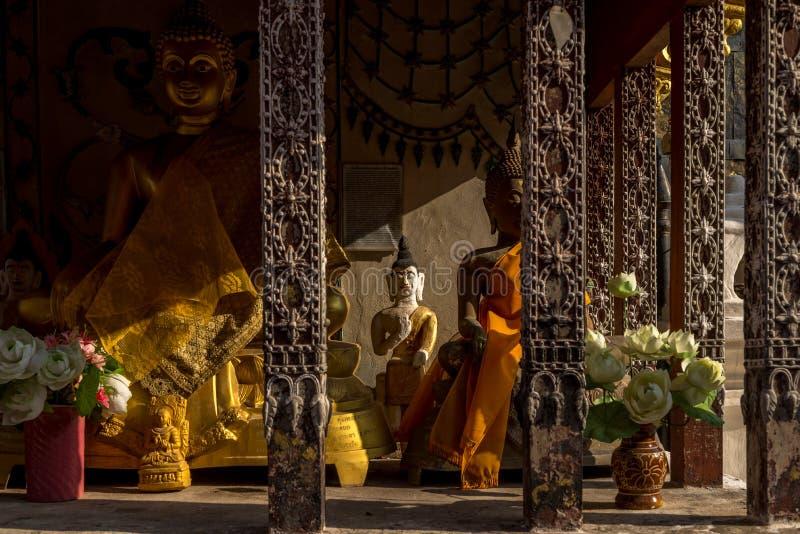 Ναός Chalermprakiet, επαρχία Ταϊλάνδη Lampang στοκ φωτογραφία με δικαίωμα ελεύθερης χρήσης