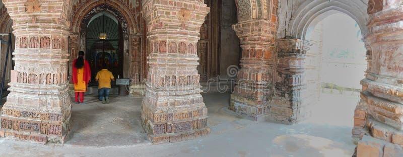Ναός Chandra Krishna, Kalna στοκ φωτογραφία με δικαίωμα ελεύθερης χρήσης