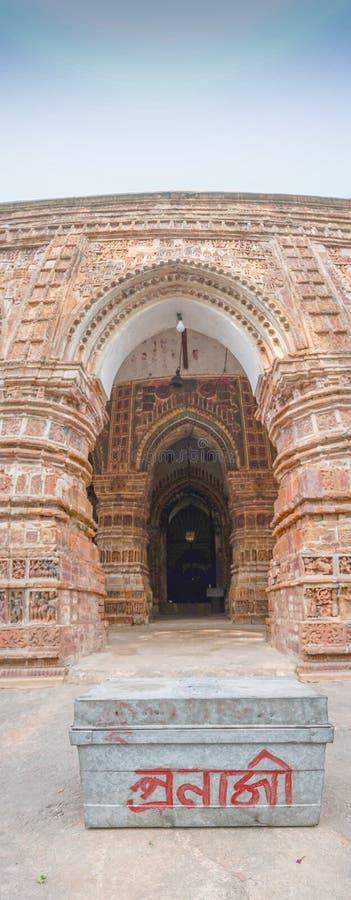 Ναός Chandra Krishna, Kalna στοκ φωτογραφίες με δικαίωμα ελεύθερης χρήσης