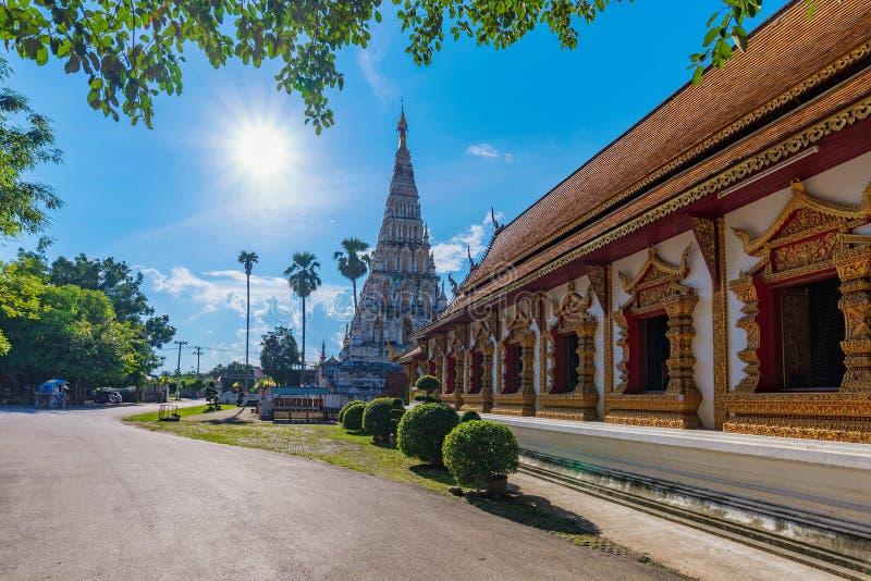 Ναός Chedi Liam Wat στοκ εικόνες