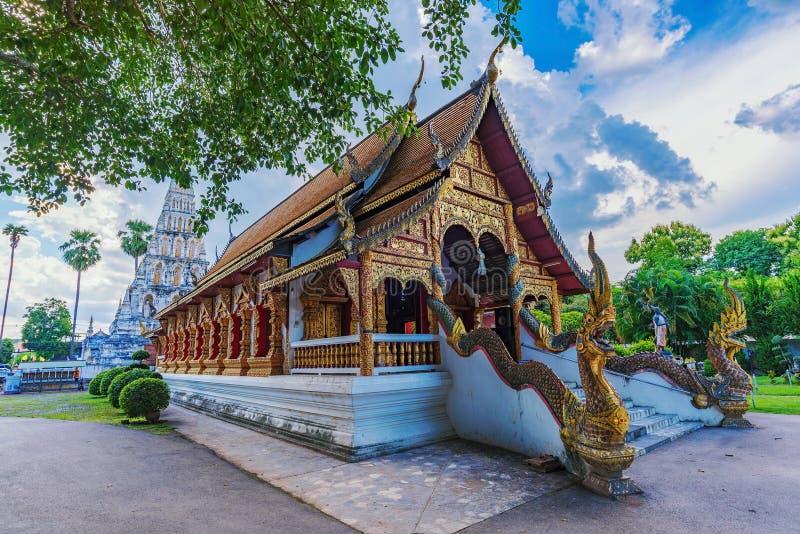 Ναός Chedi Liam Wat στοκ εικόνες με δικαίωμα ελεύθερης χρήσης