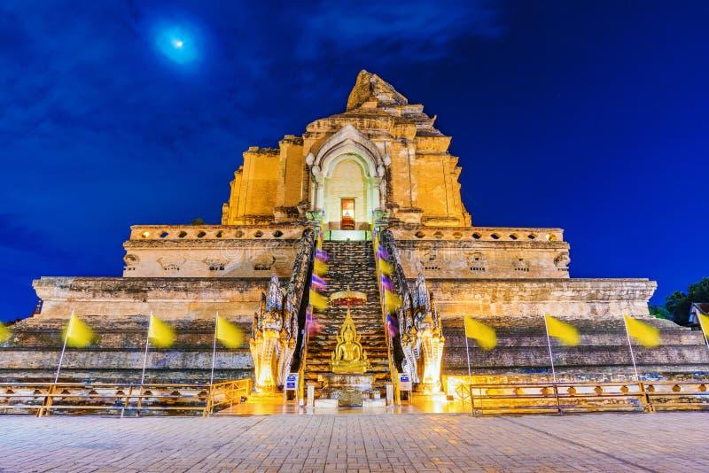 ναός chedi luang wat στοκ εικόνες
