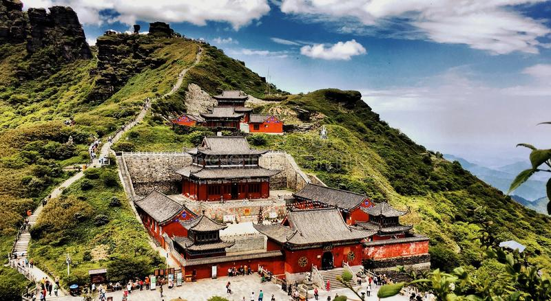 Ναός Chengen στοκ φωτογραφίες με δικαίωμα ελεύθερης χρήσης