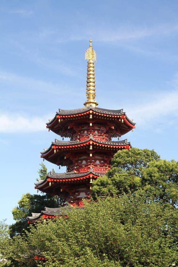 Ναός Daishi Kawasaki σε Kawasaki στοκ φωτογραφία με δικαίωμα ελεύθερης χρήσης