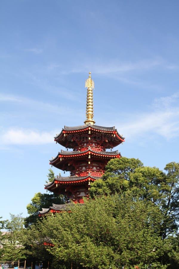 Ναός Daishi Kawasaki στοκ φωτογραφία με δικαίωμα ελεύθερης χρήσης
