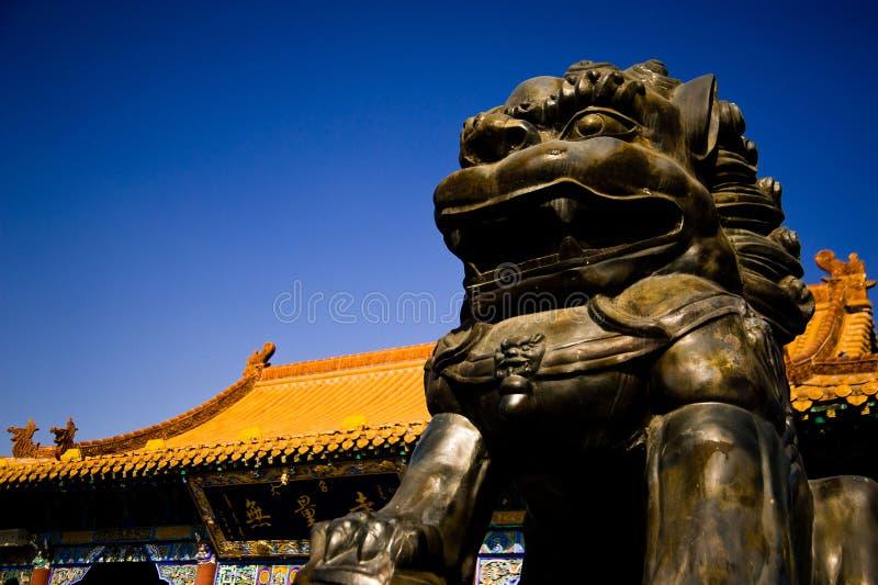 Ναός Dazhao στοκ φωτογραφία
