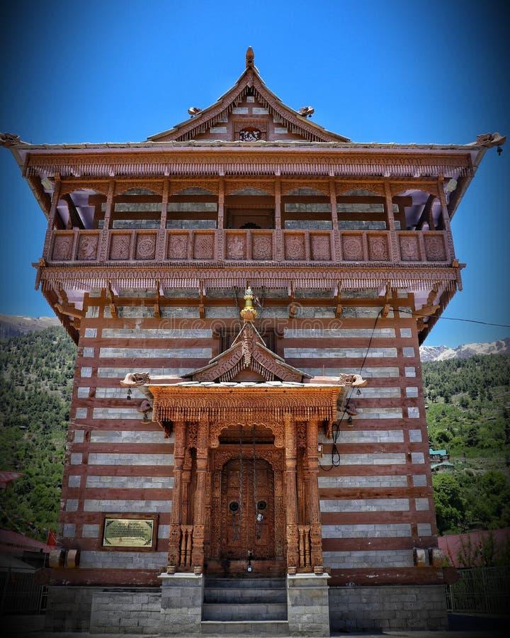 Ναός Devi Chandika, Kalpa στοκ φωτογραφία με δικαίωμα ελεύθερης χρήσης