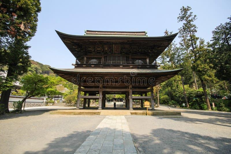 Ναός Engakuji, ο διάσημος ναός στην πόλη Kamakura, Ιαπωνία στοκ φωτογραφίες