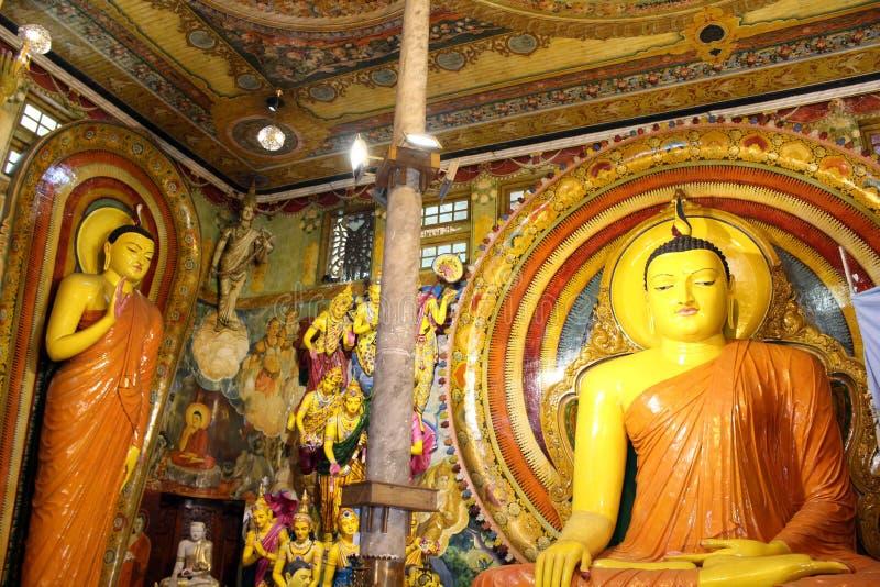 Ναός Gangaramaya, ο οποίος αισθάνεται όπως ένα προσωπικό μουσείο στοκ εικόνα με δικαίωμα ελεύθερης χρήσης