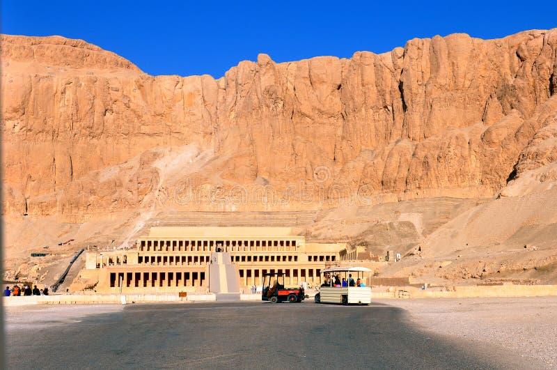Ναός Hatshepsut, Αίγυπτος στοκ εικόνα με δικαίωμα ελεύθερης χρήσης